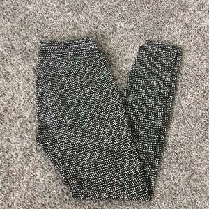 LuLaroe Black and White Dot OS Leggings Like New